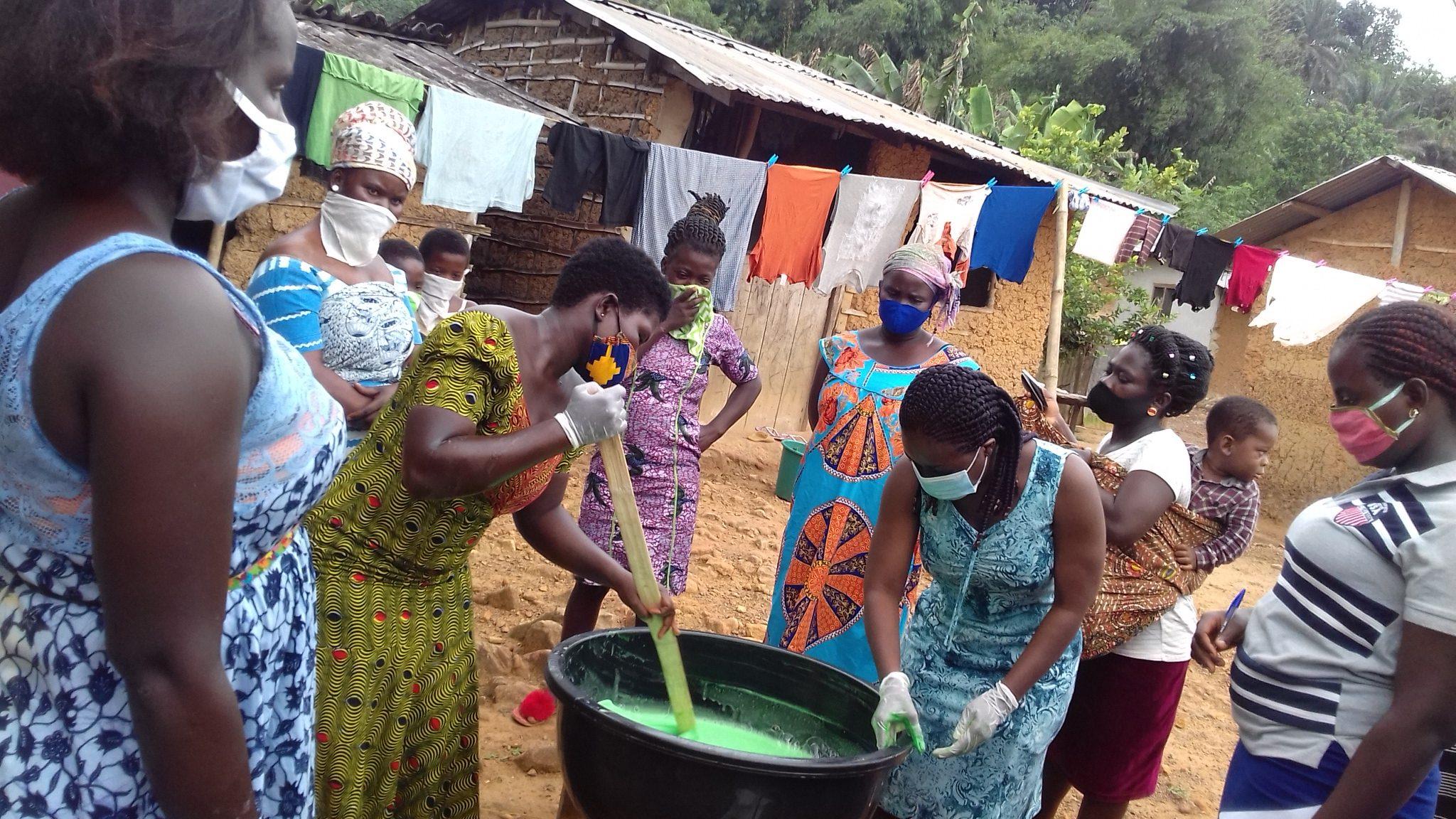 Women group in Ghana